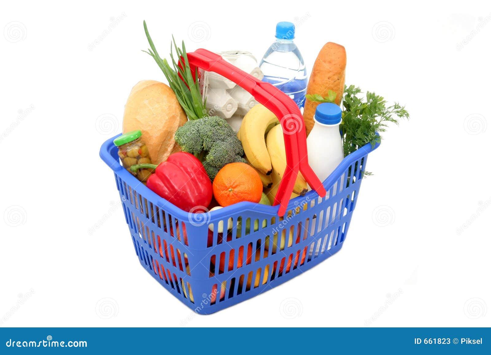Panier à provisions