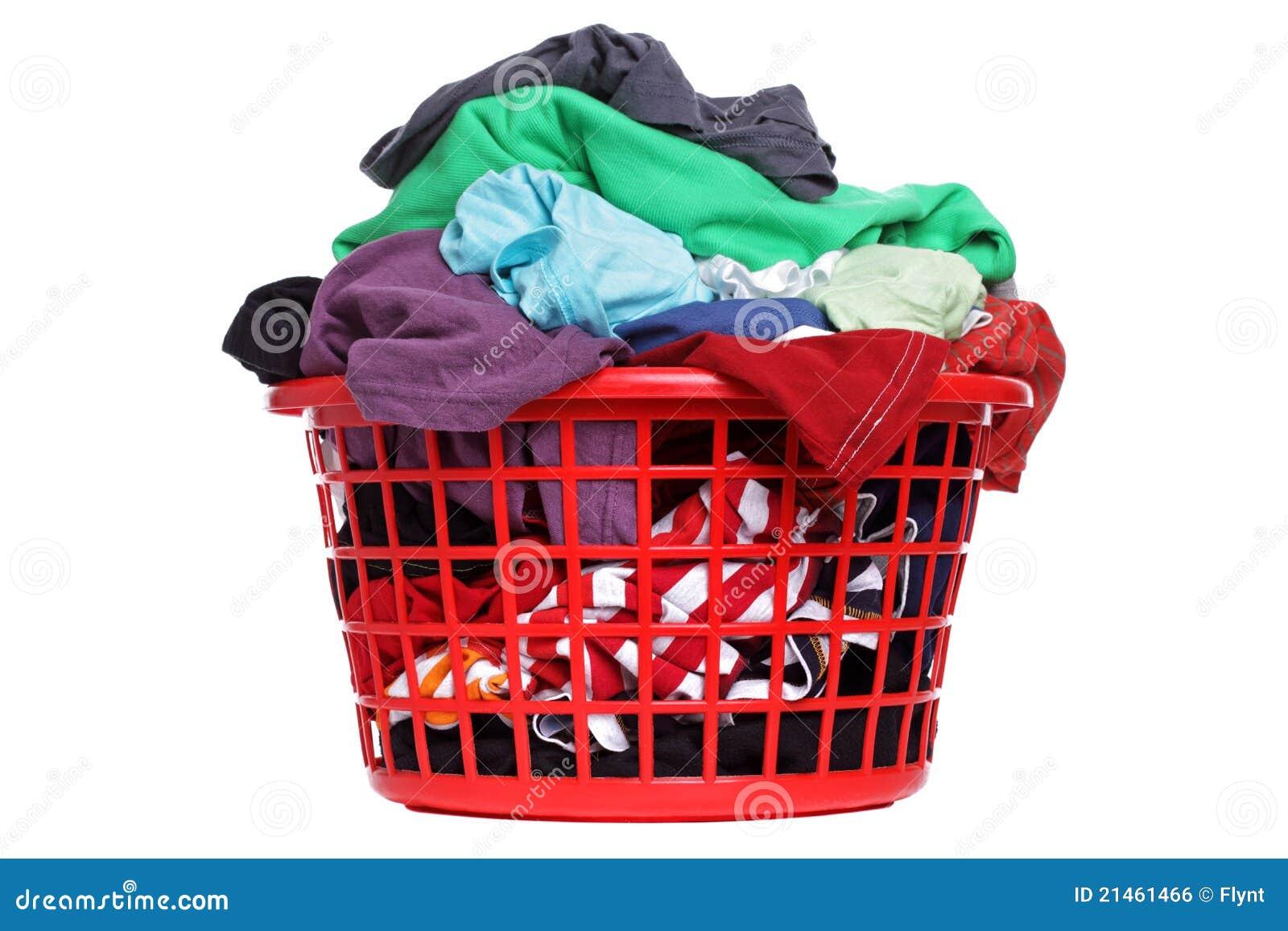 Panier de blanchisserie