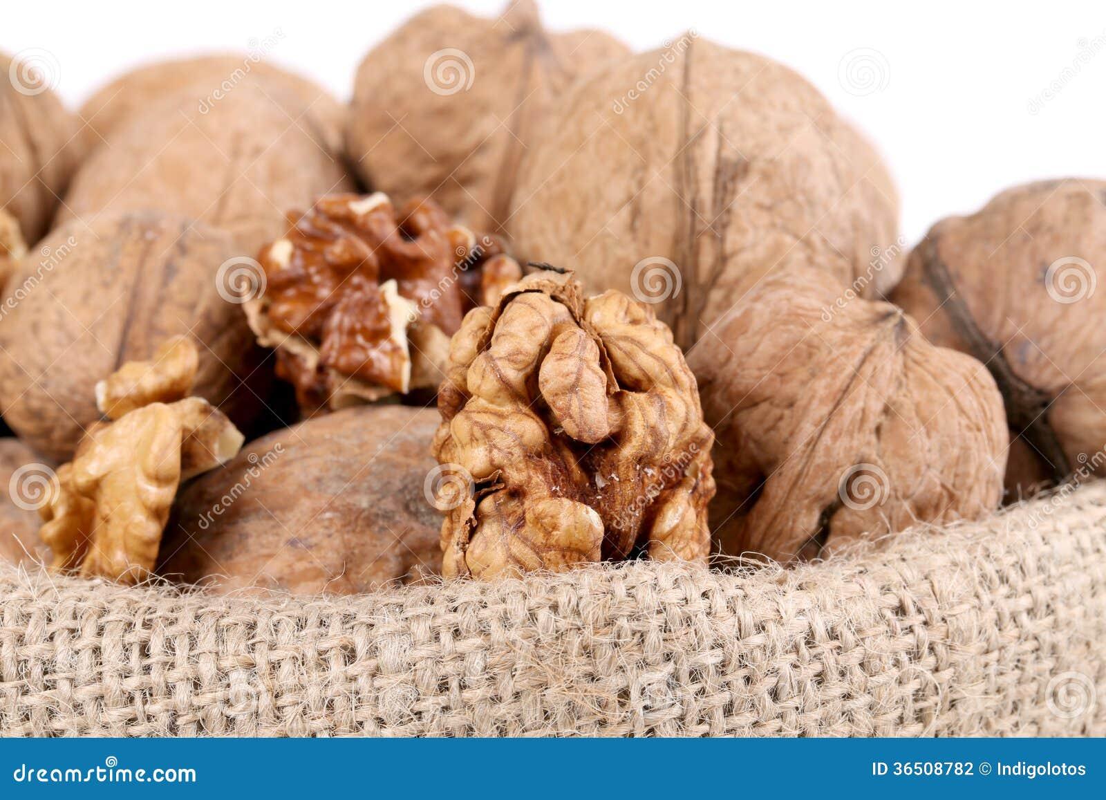 Panier des noix.