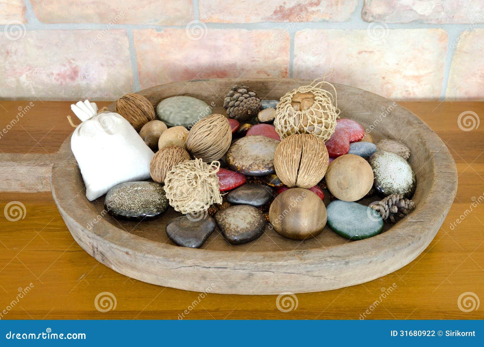 panier en osier de d coration photographie stock image 31680922. Black Bedroom Furniture Sets. Home Design Ideas