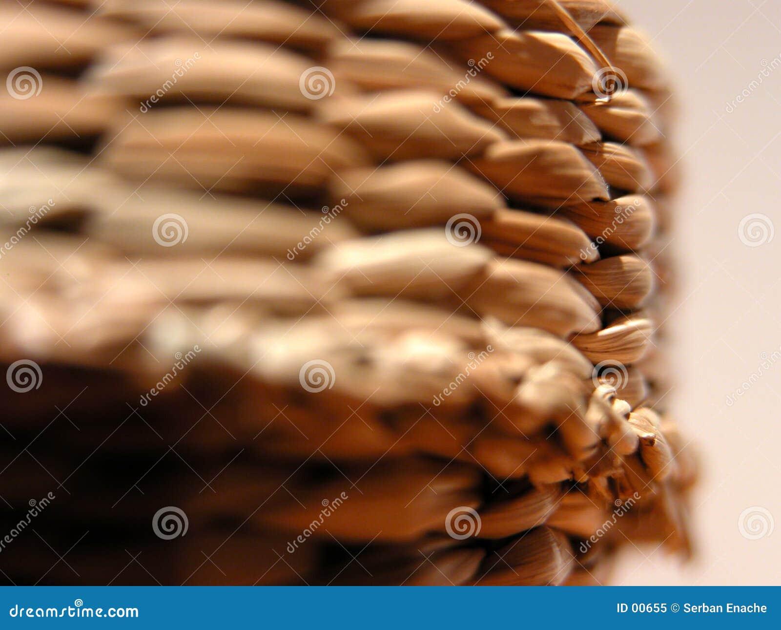 Panier fabriqué à la main
