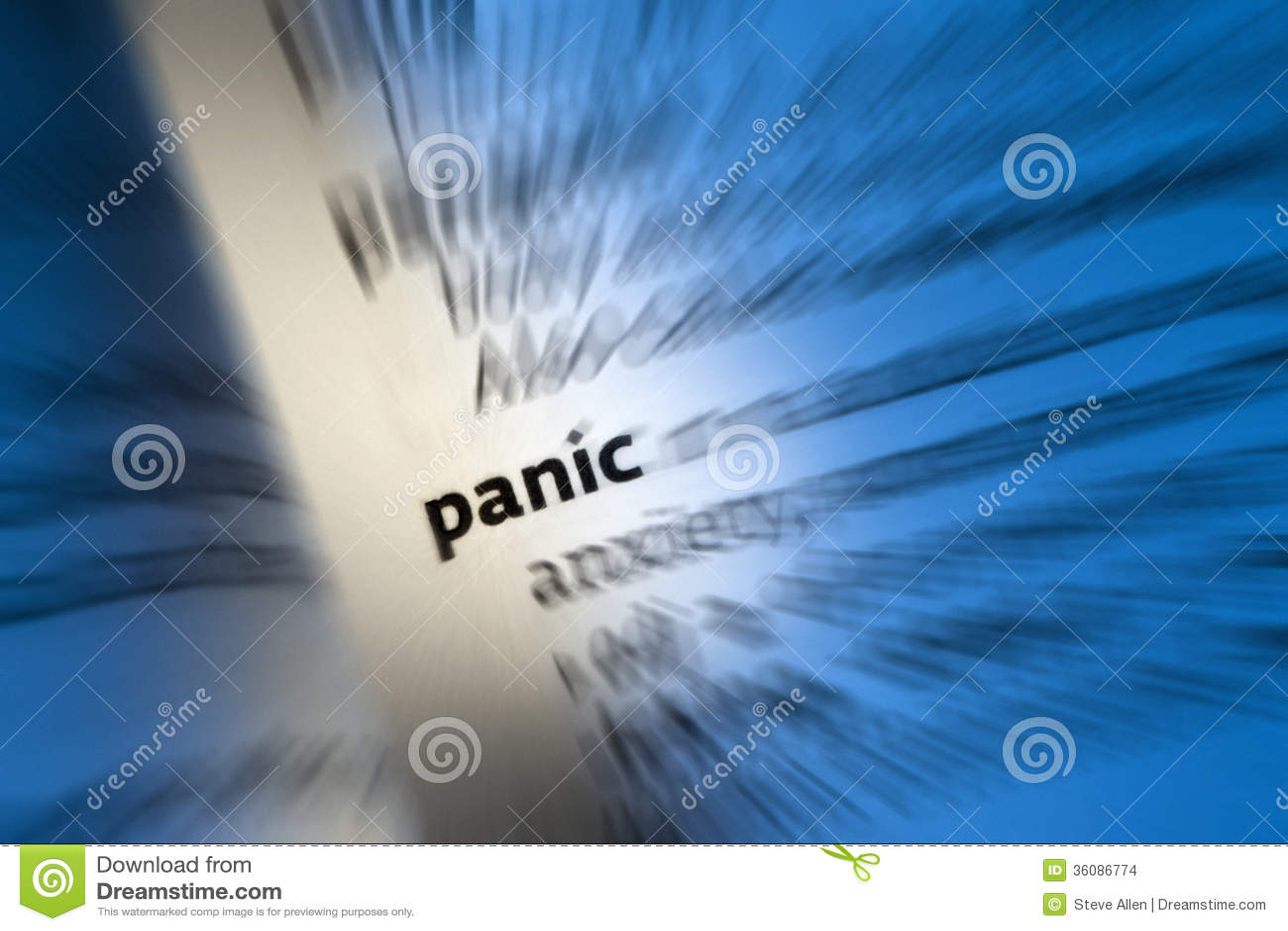 PANIK - Panikattacke