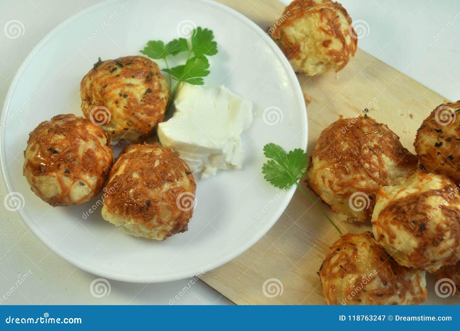 Panini con la cucina del formaggio