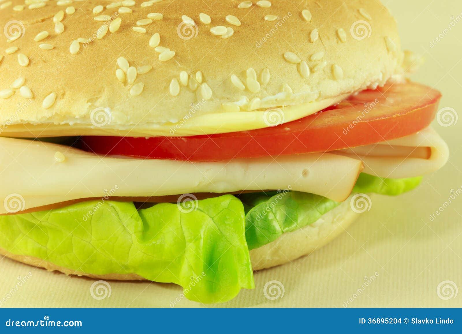 Download Panino Del Formaggio E Del Pomodoro Fotografia Stock - Immagine di alimento, pranzo: 36895204