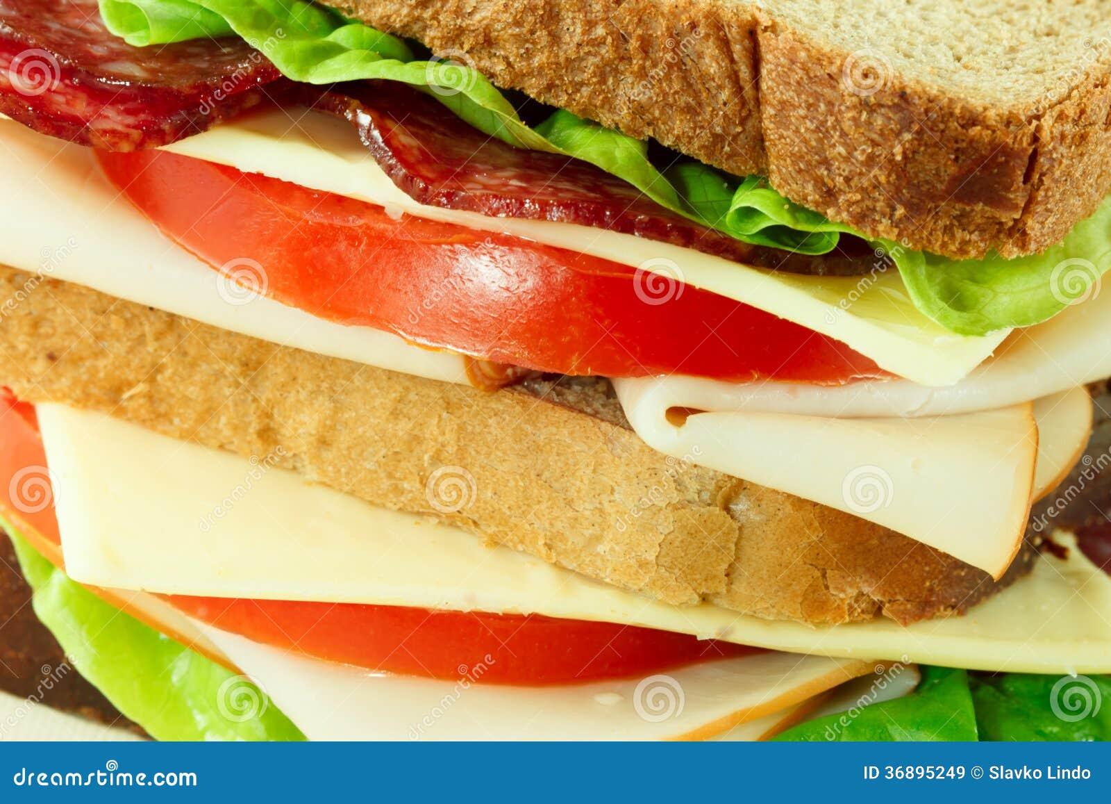 Download Panino delizioso immagine stock. Immagine di cotto, sano - 36895249