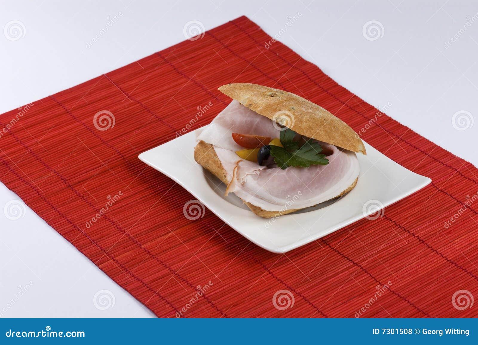 Panino di prosciutto