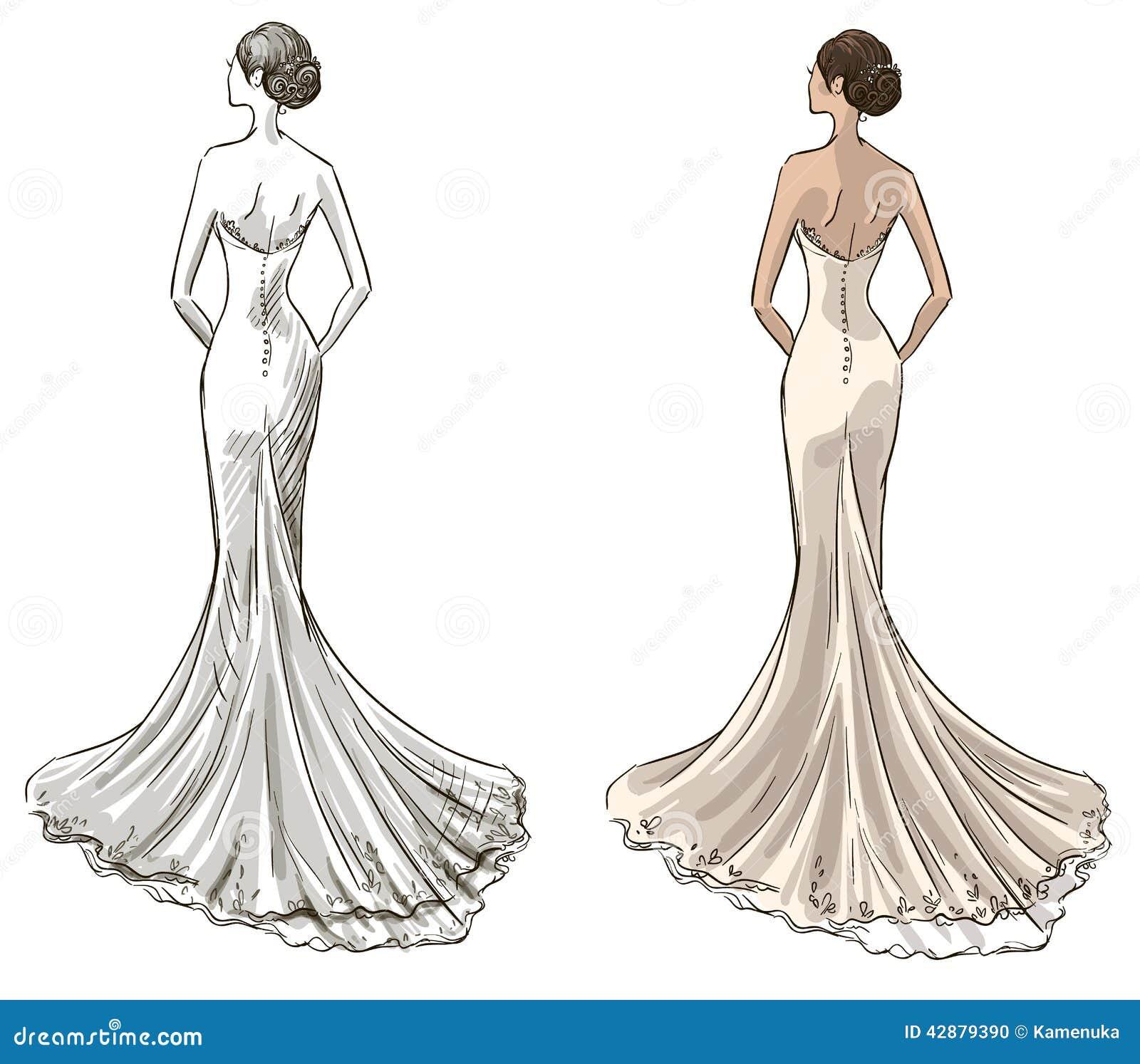 Panna młoda Panna młoda Tęsk suknia z ogonem