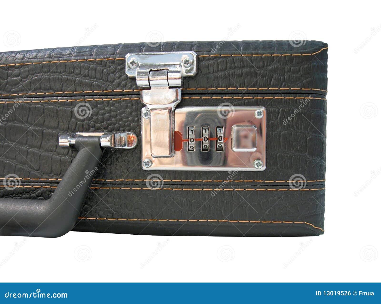 panneau bloqu de code de valise d 39 isolement image libre de droits image 13019526. Black Bedroom Furniture Sets. Home Design Ideas