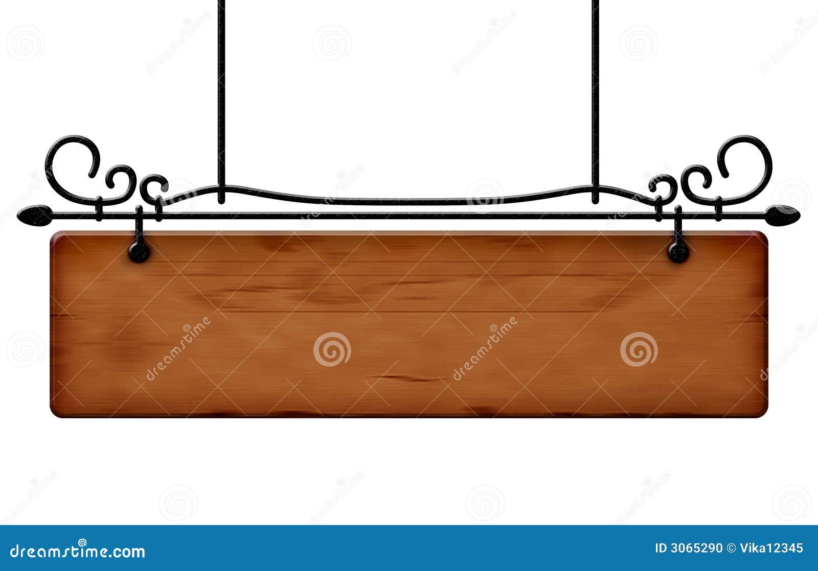Panneau d affichage en bois