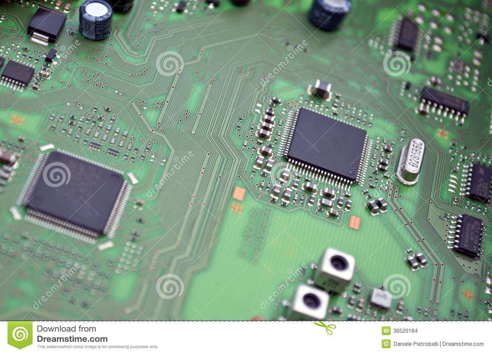 Panneau de circuit intégré
