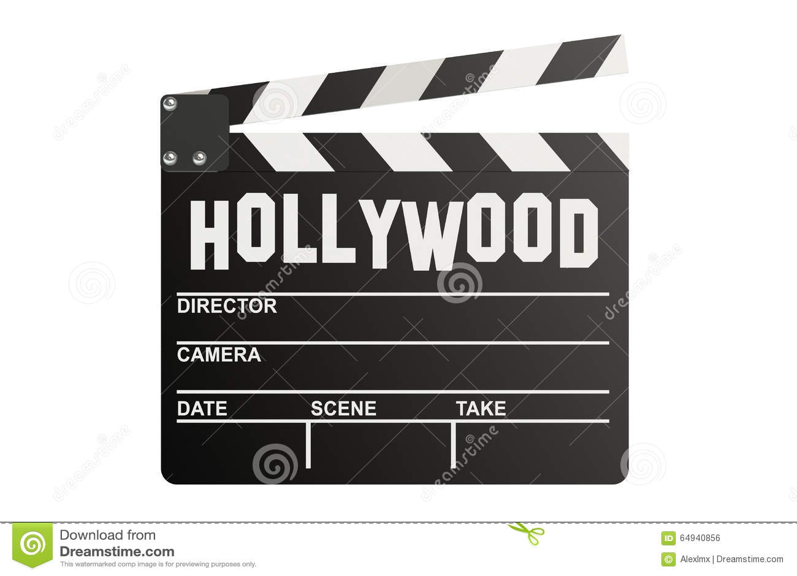 Panneau de clapet de Hollywood