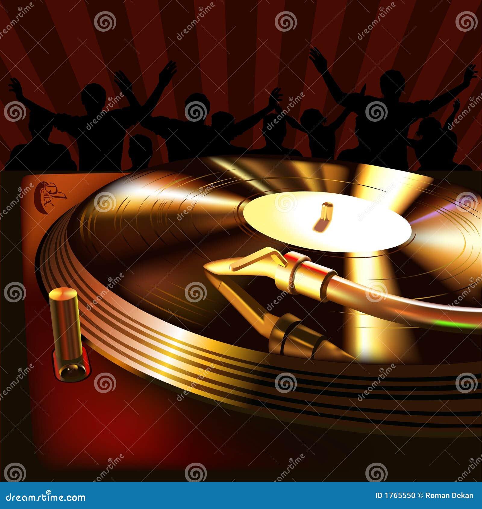 Panneau de mélange du DJ