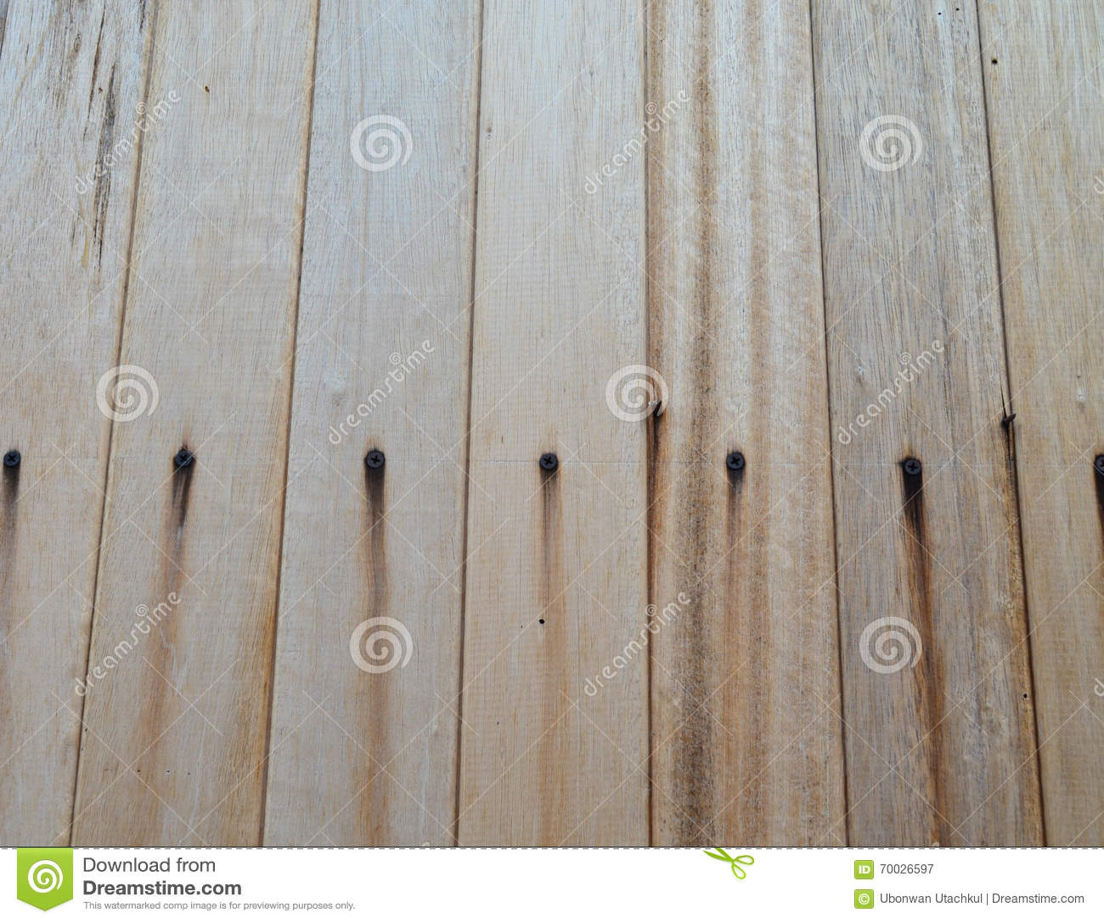 panneau de mur en bois g avec la tache de rouille image. Black Bedroom Furniture Sets. Home Design Ideas