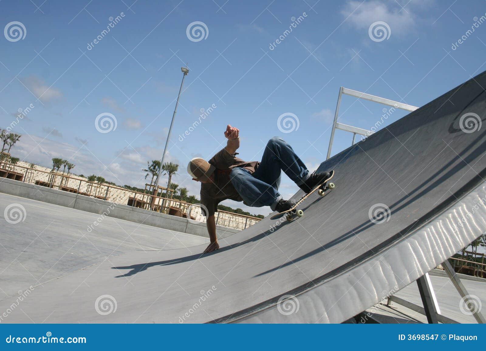 Panneau de patin