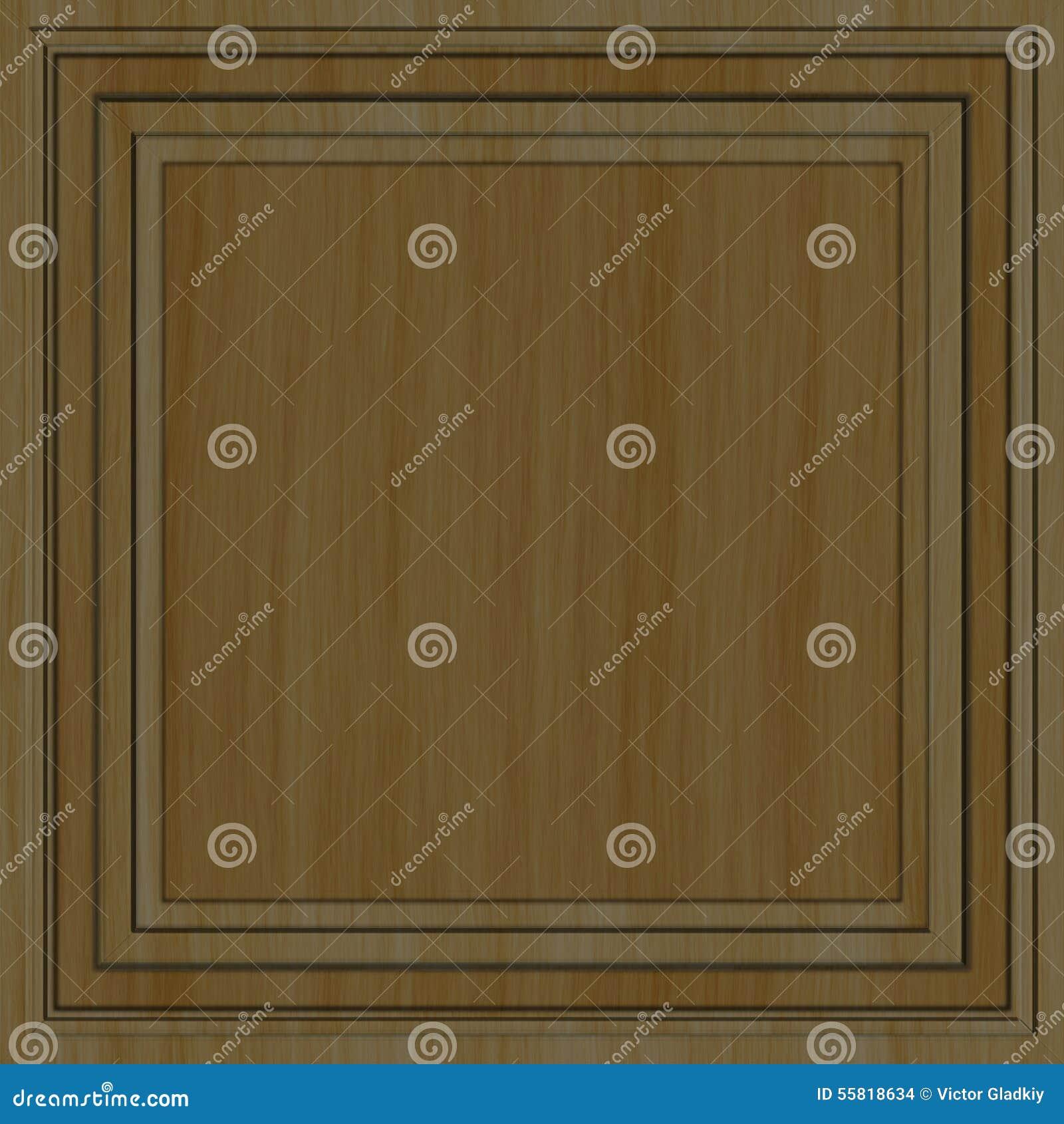 panneau en bois d coratif illustration stock image 55818634. Black Bedroom Furniture Sets. Home Design Ideas