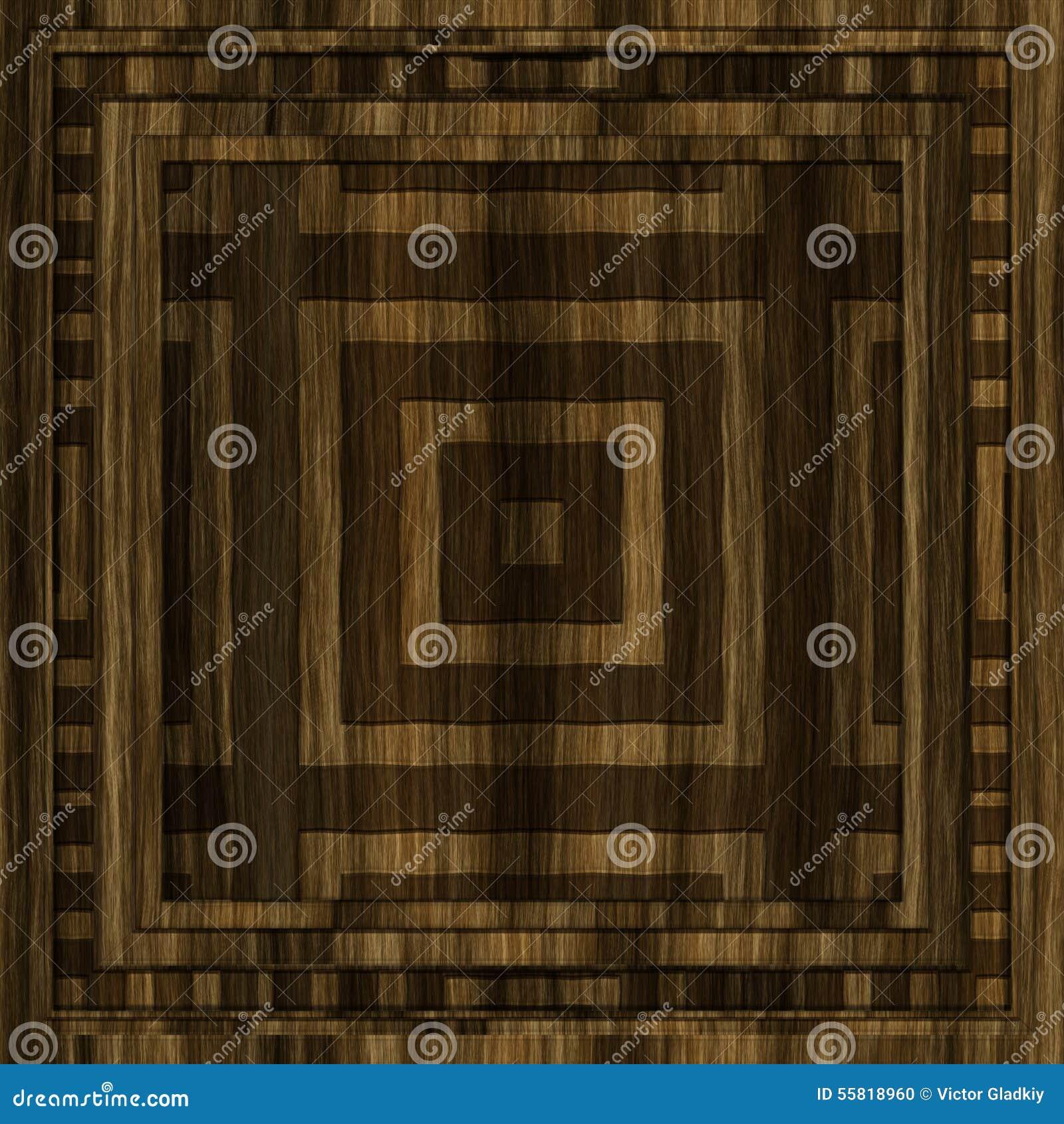 Panneau en bois d coratif illustration stock image 55818960 - Panneau bois decoratif ...