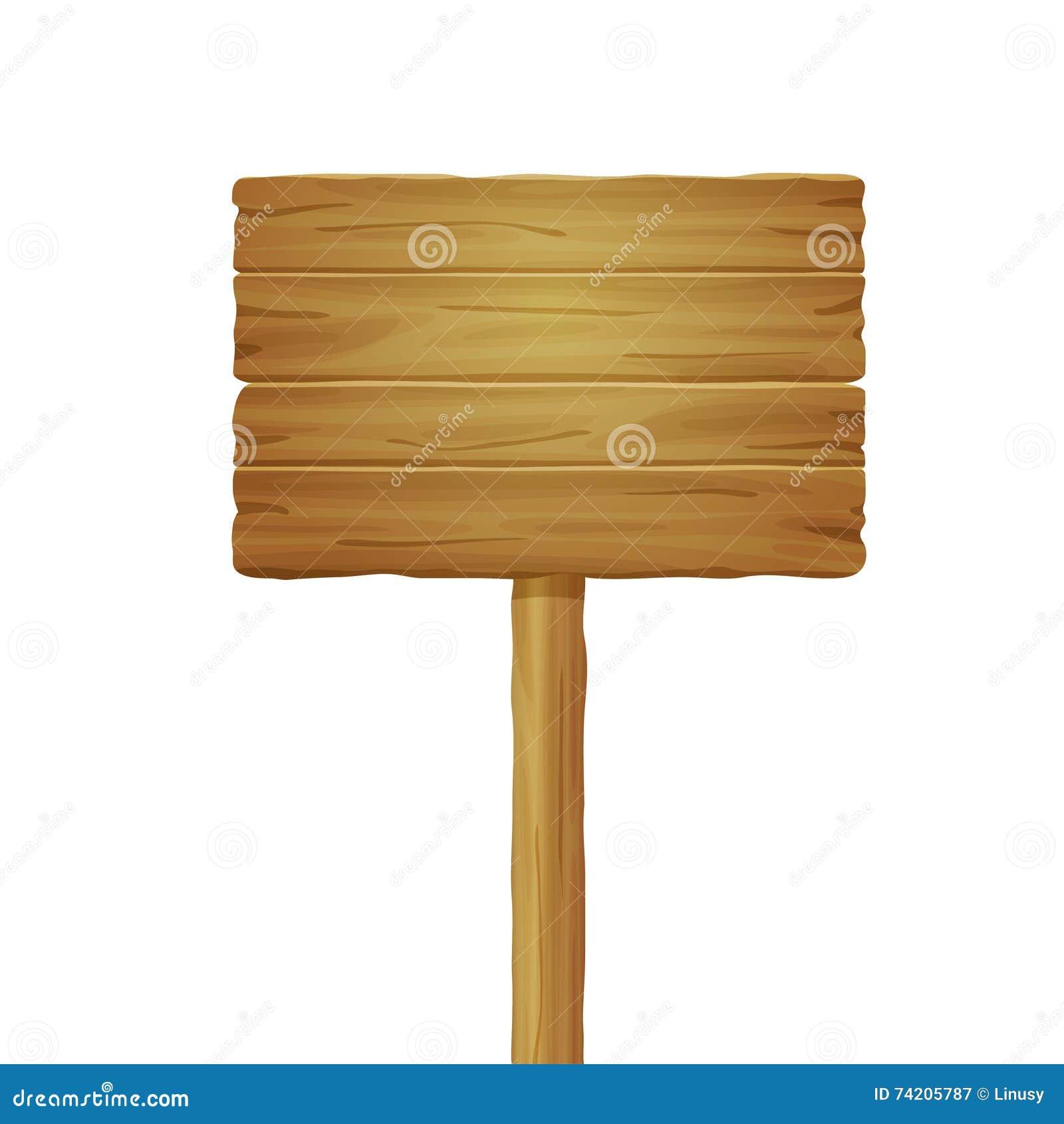 Panneau en bois de route illustration de vecteur Illustration du objet 74205787 # Panneau Copeaux Bois Compressé