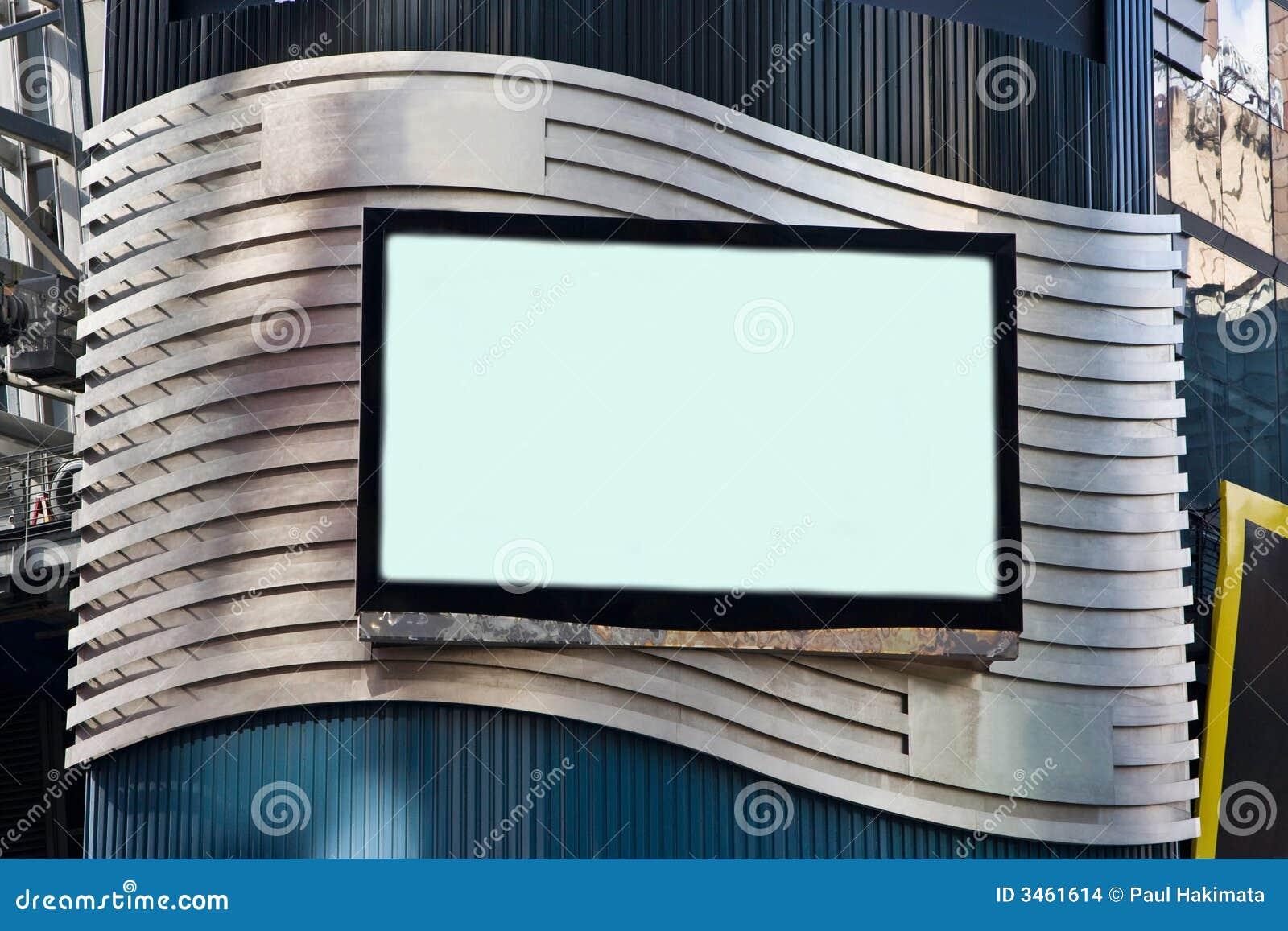 Panneau-réclame de l affichage à cristaux liquides TV de publicité