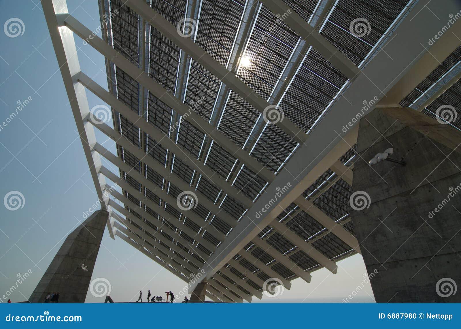 Panneau solaire énorme