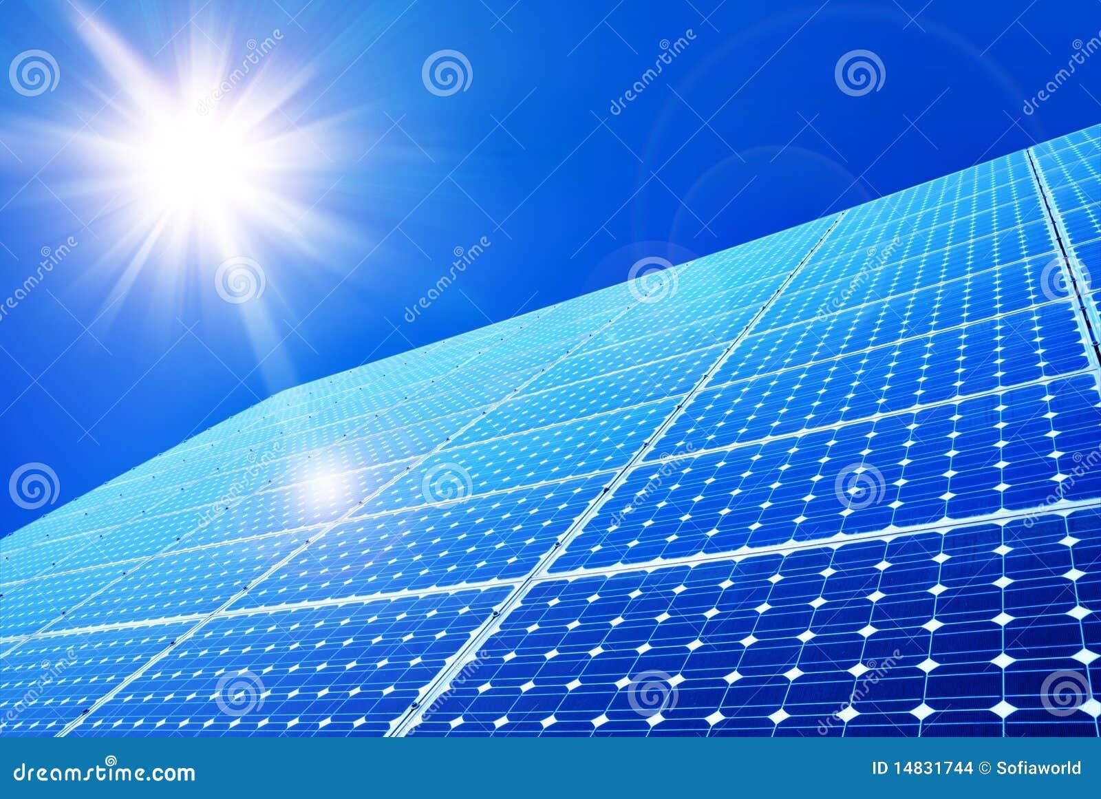 panneau solaire images stock image 14831744. Black Bedroom Furniture Sets. Home Design Ideas
