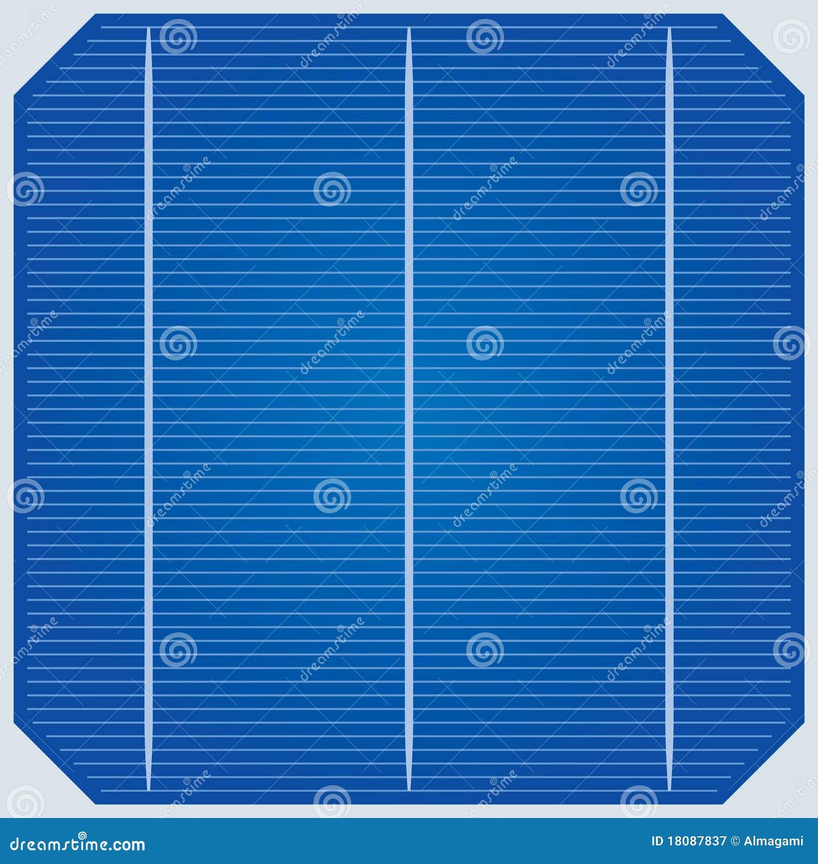 panneau solaire illustration de vecteur illustration du cellule 18087837. Black Bedroom Furniture Sets. Home Design Ideas