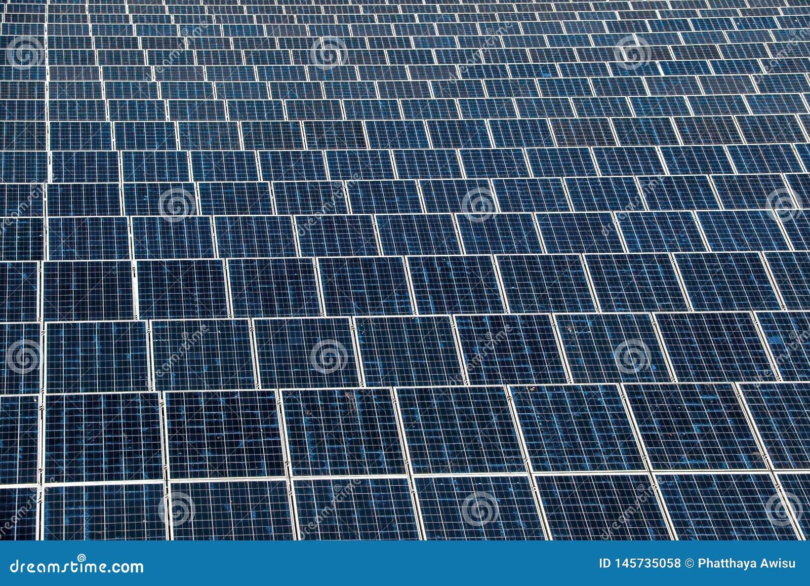 Panneau solaire produisant de l ?nergie propre de l ?lectricit?