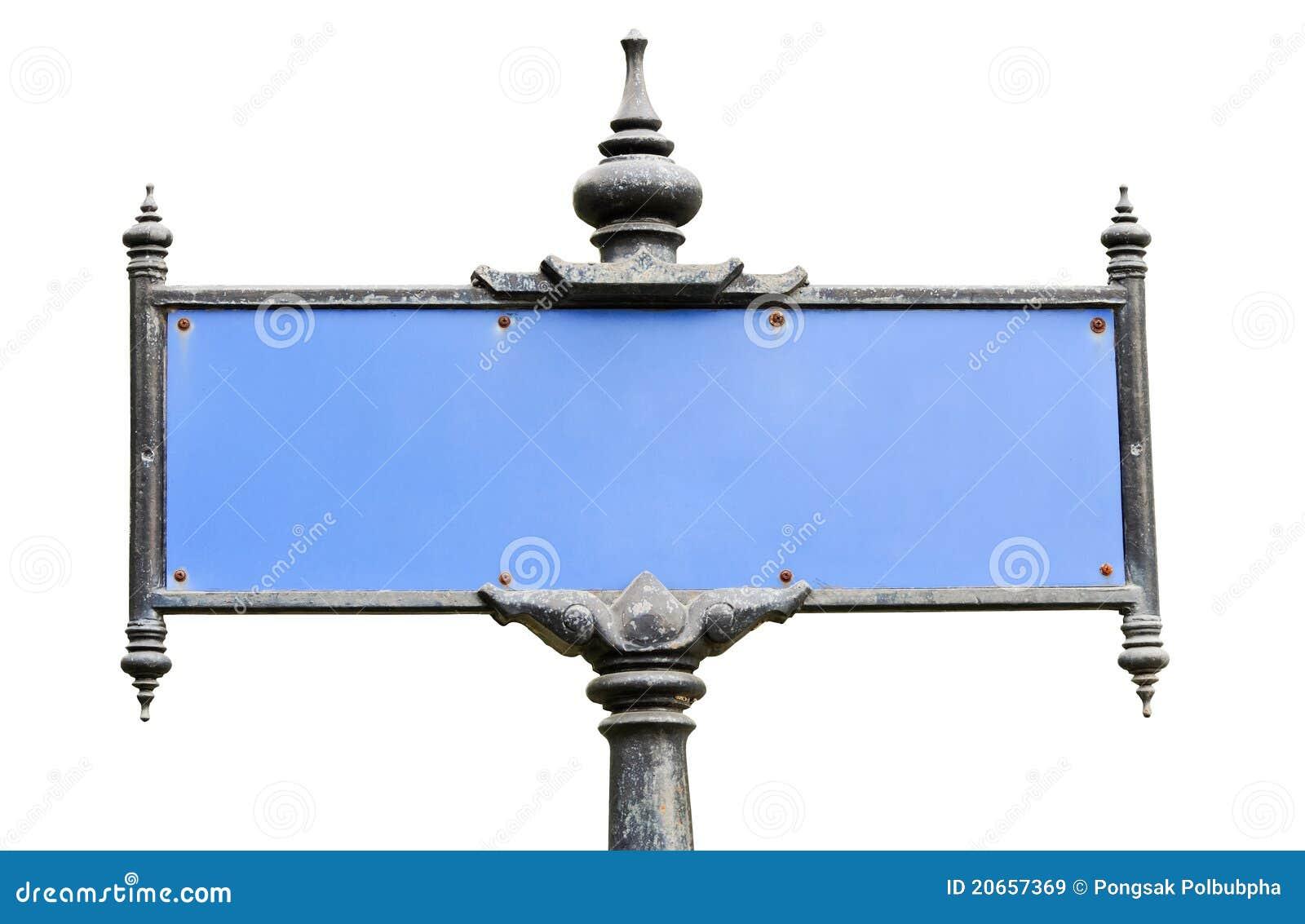 panneau tha traditionnel de rue images libres de droits image 20657369. Black Bedroom Furniture Sets. Home Design Ideas