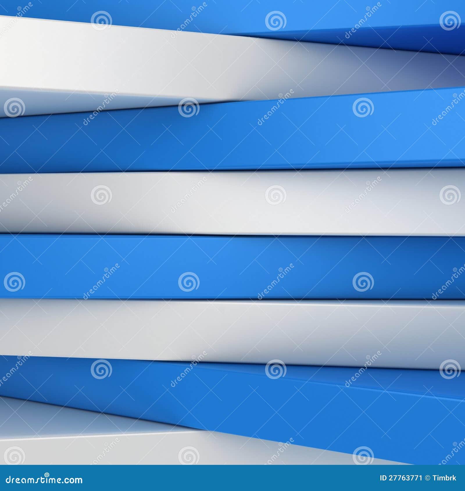 Panneaux bleus et blancs
