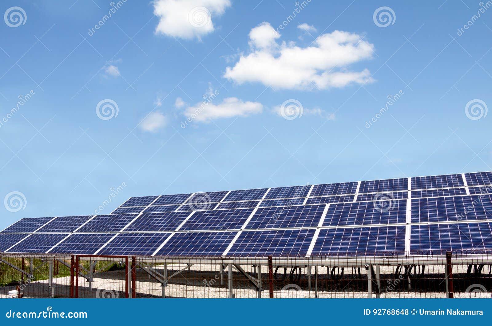 Panneaux d énergie solaire