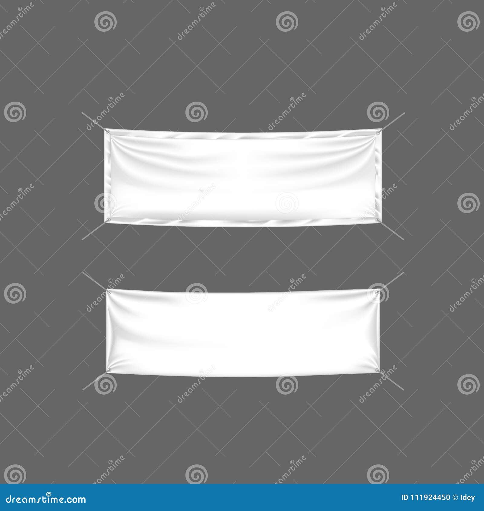 Panneaux d affichage réalistes, drapeaux et publicité extérieure Signes au détail, support de maquette