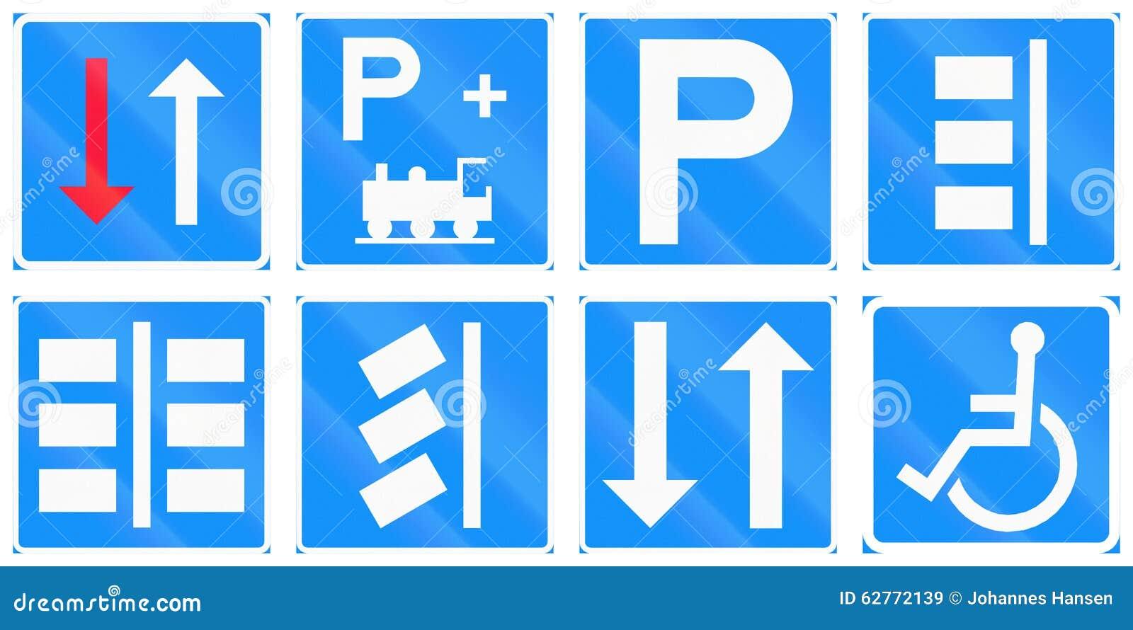 Panneaux routiers de réglementation en Finlande