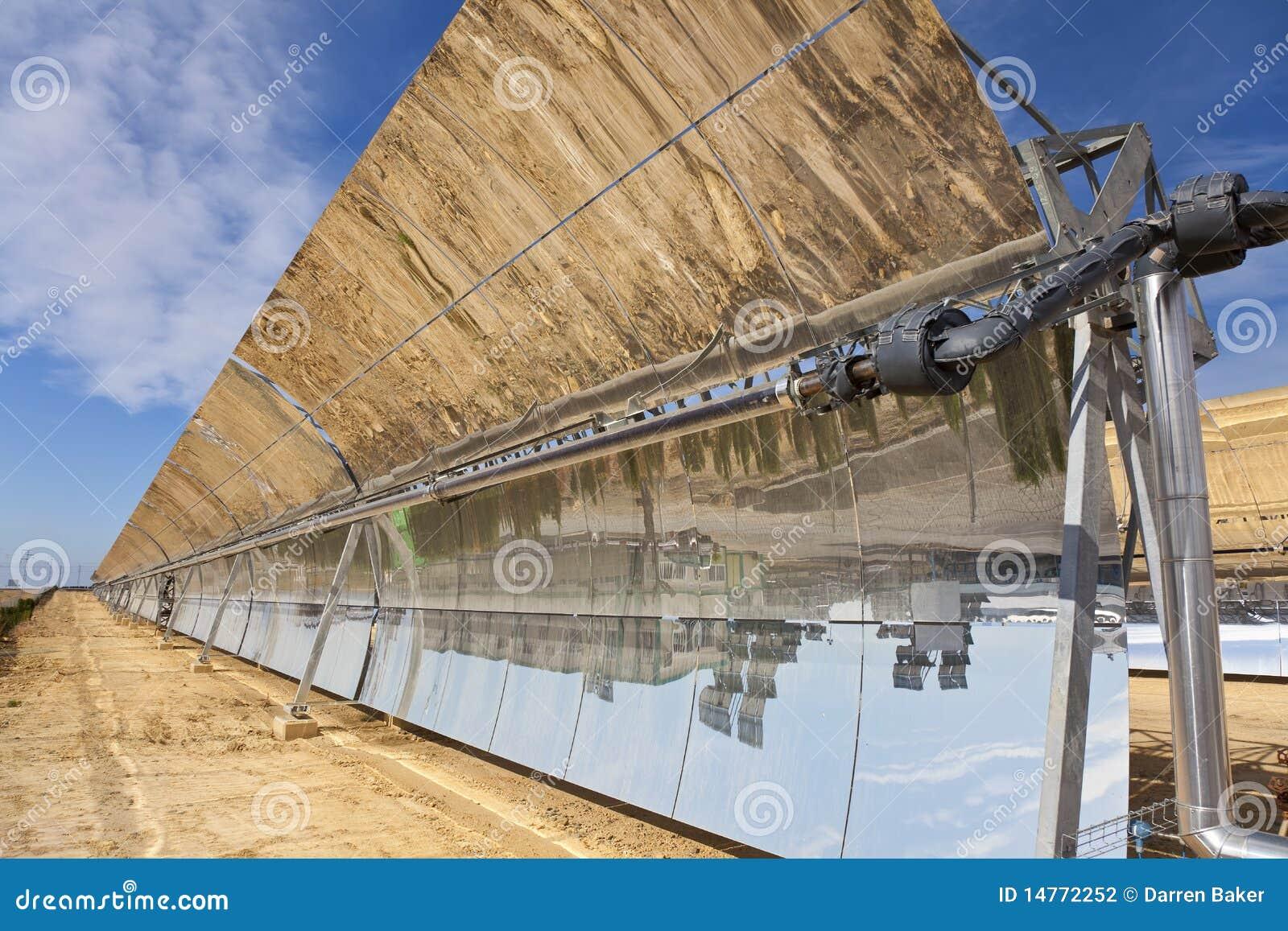 Panneaux solaires de miroir de cuvette parabolique for Miroir solaire parabolique
