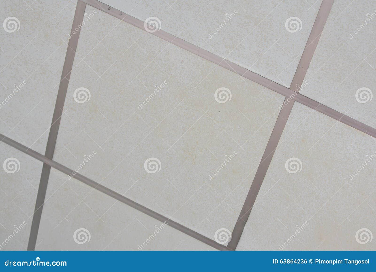 Pannelli bianchi per il controsoffitto fotografia stock immagine