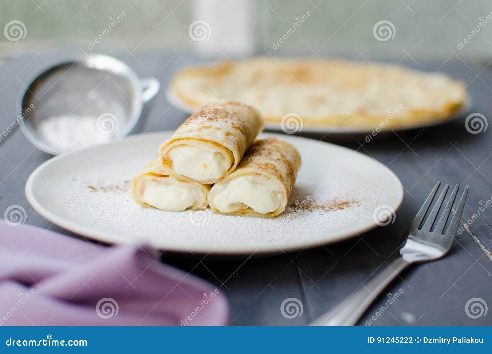 Pannkakor med ricotta