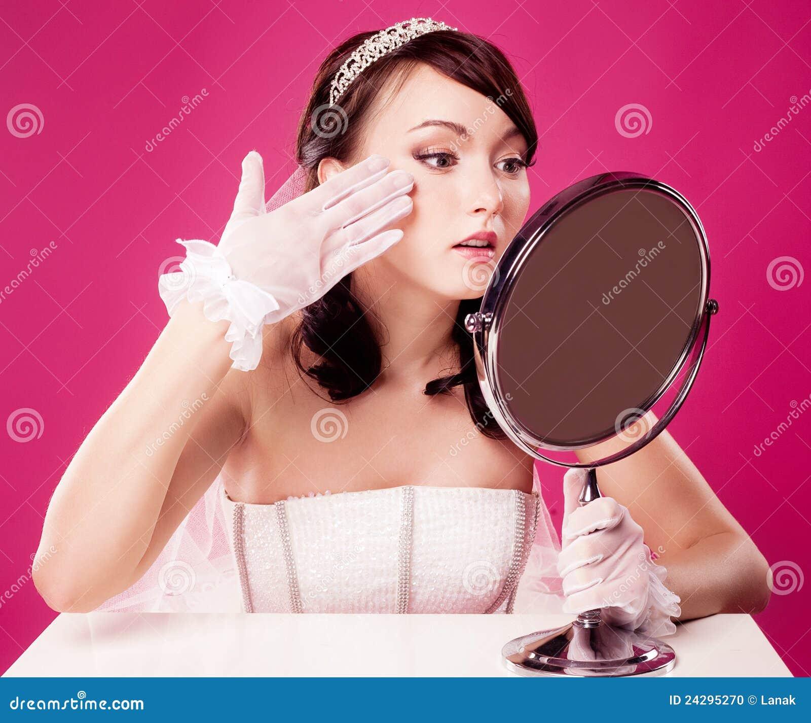 Panny młodej lustro