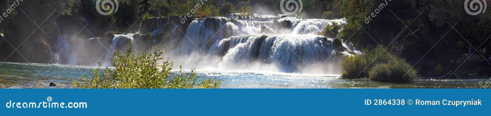 Panoram wodospadu