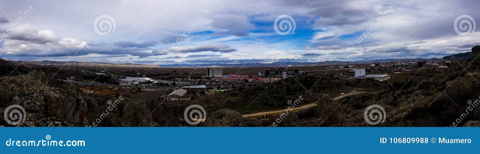 Panorama of Ayonkarahisar