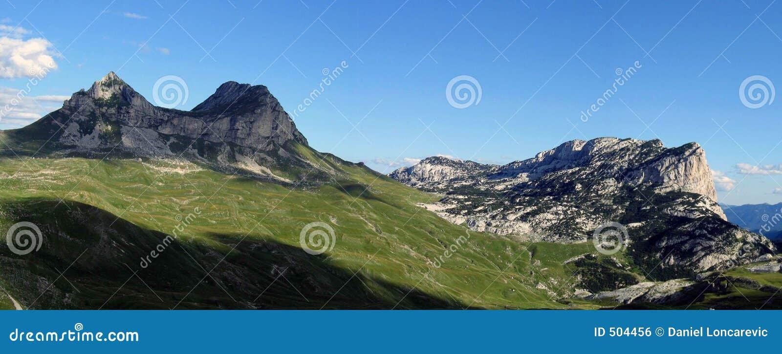 Panorama- berg