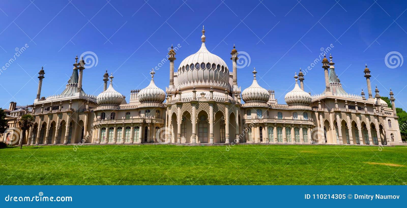 Panorama Brighton East Sussex Southern England Regno Unito del padiglione reale