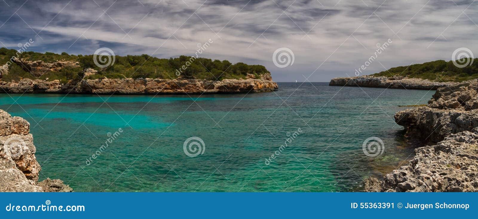 Panorama Cala Sa Nau