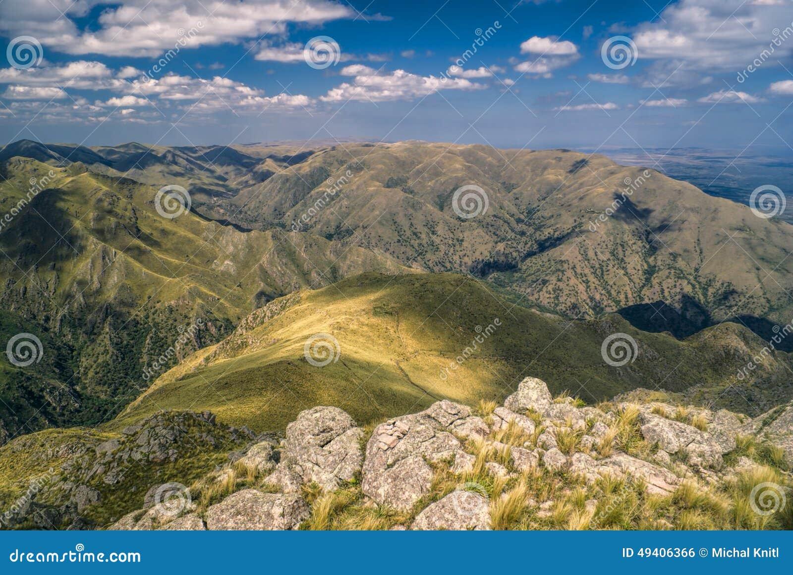 Download Panorama In Capilla Del Monte Stockfoto - Bild von panorama, berge: 49406366
