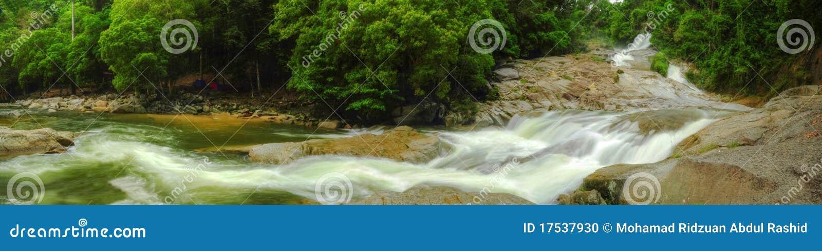 Panorama - Chamang Wasserfall