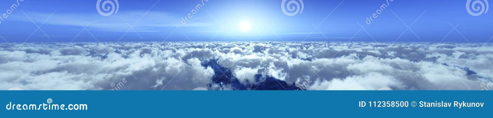 Panorama chmury