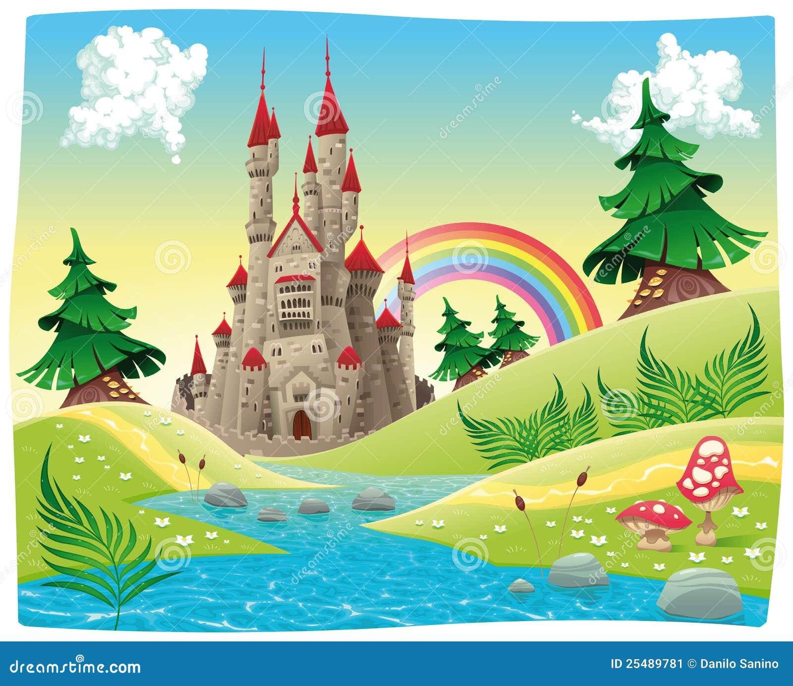 Panorama con el castillo.