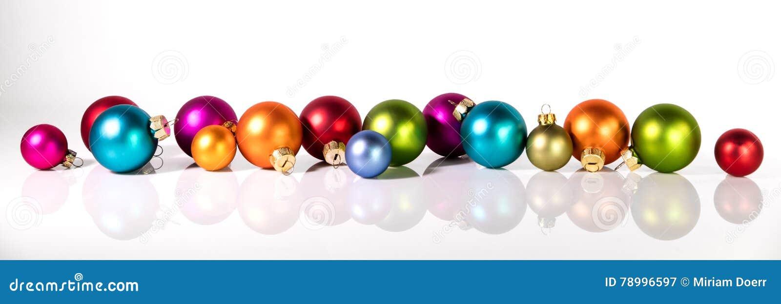 Panorama con le palle di natale immagine stock immagine for Antifurto con le palle