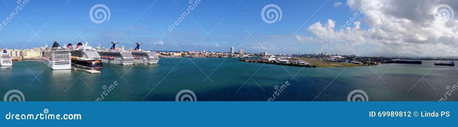 Panorama Cruiseport San Juan - Puerto Rico