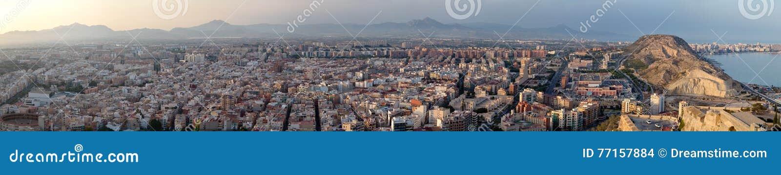 Panorama d Alicante