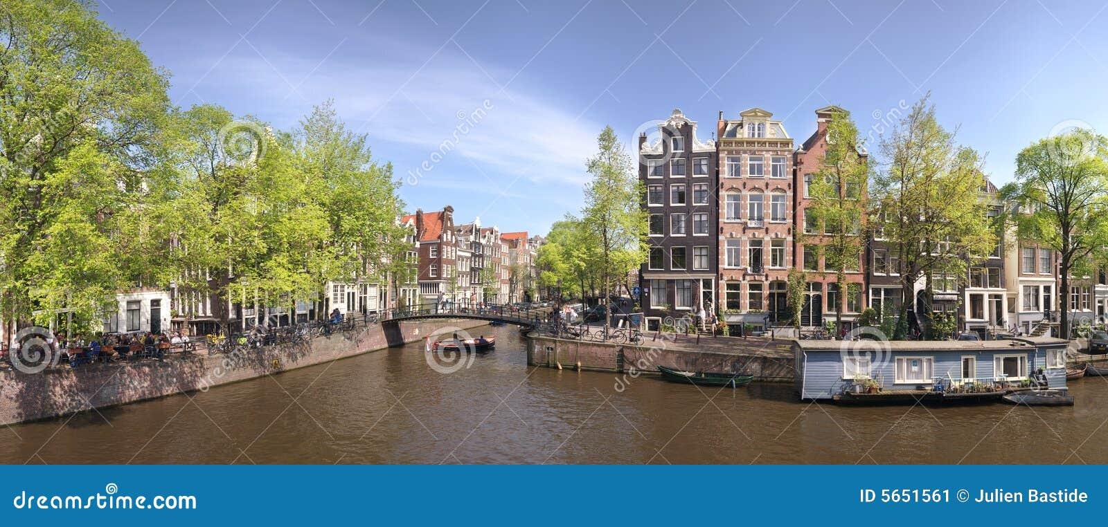 Panorama d Amsterdam