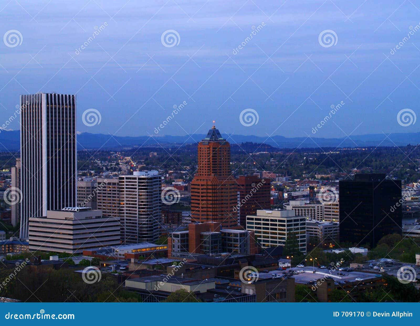 Panorama da baixa 1 de Portland