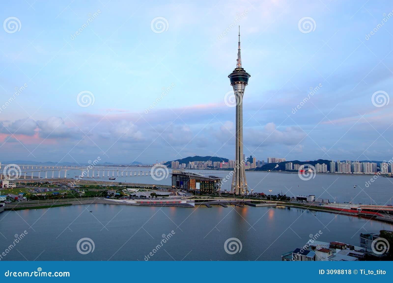 Panorama da cidade de Macau